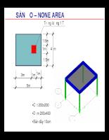 etab- chuyên đề sử dụng sàn ảo, vách ảo để tính toán