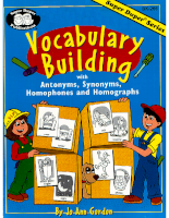 Super Duper Publications Vocabulary Builder