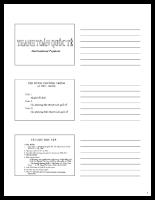 Bài giảng thanh toán quốc tế - 45 tiết