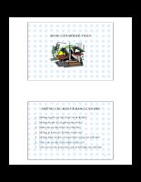 Bảng cân đối kế toán :những câu hỏi về bảng cân đối