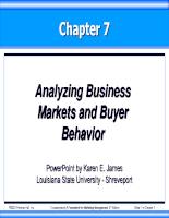 Bài giảng quan tri marketing 07