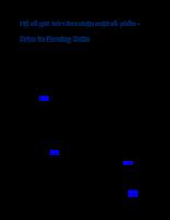 Hệ số giá trên thu nhập một cổ phần - Price to Earning Ratio