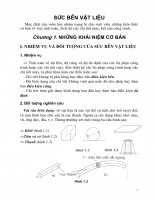 Sức bền vật liệu - Chương 1