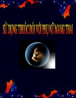 Thông tin về sử dụng thuốc trong thời kỳ mang thai (76 slide)