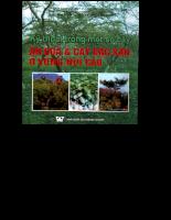 Kỹ thuật trồng một số cây ăn quả và cây đặc sản ở vùng cao