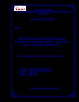 Phân tích báo cáo tài chính công ty tnhh sản xuất – thương mại – dịch vụ hoài bắc.doc