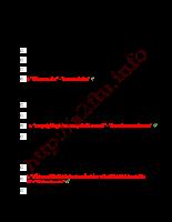Đáp án mẫu đề thi thương mại điện tử tổng hợp