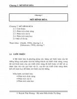 Mô hình hóa và nhận dạng hệ thống - P2