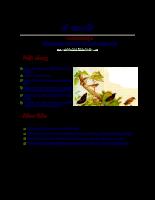 Chương 1: Khái niệm chung về sinh thái học