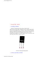 Điện tử cơ bản và tổng hợp các mạch điện cơ bản nhất - Chương 13