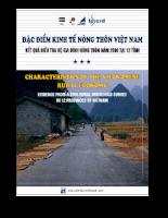 Đặc điểm Kinh tế Nông thôn Việt Nam Kết quả Điều tra Hộ gia đình Nông thôn năm 2006 tại 12 tỉnh.pdf