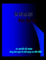 Ôn thi ĐH môn hóa - Phần 3