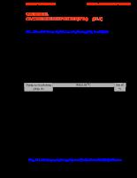 Giáo án kỹ thuật đo lường - Chương 18