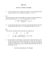 Bài tập điện học