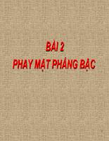 Thực hành phay P1 - Bài 2