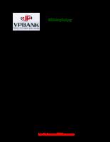 Đề thi tuyển dụng VPBank