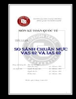 So sánh chuẩn mực kế toán Việt Nam và chuẩn mực kế toán quốc tế VAS 02 và IAS 02.doc