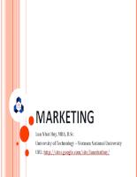 marketing từ cơ bản đến nâng cao