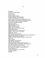 Từ điển sinh học anh việt - V