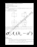Giáo trình Bê Tông Cốt Thép 1 - Chương 6