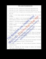 Giáo trình sinh lý học- tài liệu tham khảo