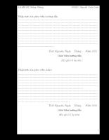 Thiết kế hệ thống đồng hồ thời gian thực hiển thị lịch âm dương