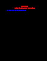 Chẩn đoán trạng thái kỹ thuật ô tô - Chương 7