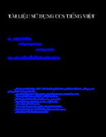 Hướng dẫn sử dụng chương trình lập trinh C cho vi điều khiển PIC