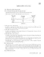Sổ tay hàng hải - T2 - Chương 32