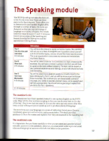 New Insight into IELTS Student book with answers 2008 Speaking - Part 4
