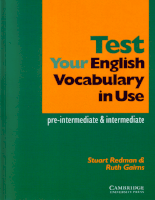 Test your english Vocabulary in Use preintermediate-intermediate