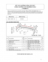 Hướng dẫn lắp đặt và sử dụng phụ kiện trên xe ô tô TOYOTA VIOS - P3