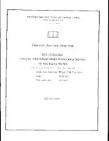 Báo cáo thực tập tại Công ty TNHH Xuất nhập khẩu công nghiệp và Xây dựng Hà nội.PDF
