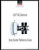 Hướng dẫn sử dụng hệ thống điện Freightliner M2 2007  Electrical Body Builder Ma