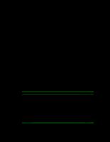 Chương 11: Một số tính chất vật lý và cơ lý của đất