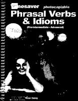Timesaver- Phrasal Verbs Pre-Inter Advance