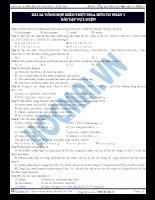 Tài liệu ôn tập 10: tổng hợp kiến thức hóa hữu cơ 1