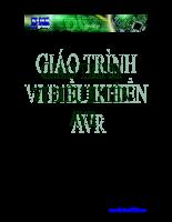 Giáo trình vi điều khiển AVR