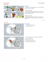 Quy trình đại tu hộp số 2 - P2