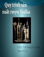presentation vodka