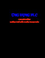 Ứng dụng PLC cho hệ thống khống chế điều khiển thang máy