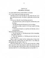 Giáo trình thủy lực cấp thoát nước - Chương 14