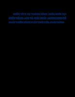 Phân tích hệ thống kênh phân phối tại ngân hàng acb và giải pháp marketing để phát triển kênh phân phối của ngân hàng