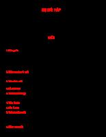 Hệ hô hấp và hệ tiêu hóa