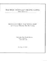 Báo cáo thực tập tại Công ty điện lực Hai Bà Trưng.PDF