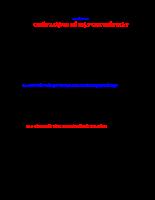 Cơ lý thuyết 1A - Chương 2.1