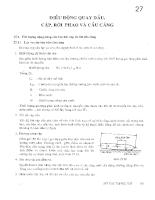 Sổ tay hàng hải - Tập 2 - Chương 27