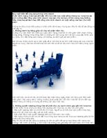 Quy luật biến đổi ứng dụng trong kinh doanh