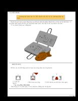 Tài liệu khuôn mẫu, kỹ thuật và cách chế tạo khuôn ép phun.
