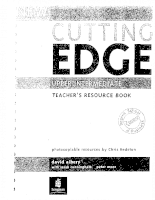 New Cutting Edge Upper Intermediate Teachers Resource
